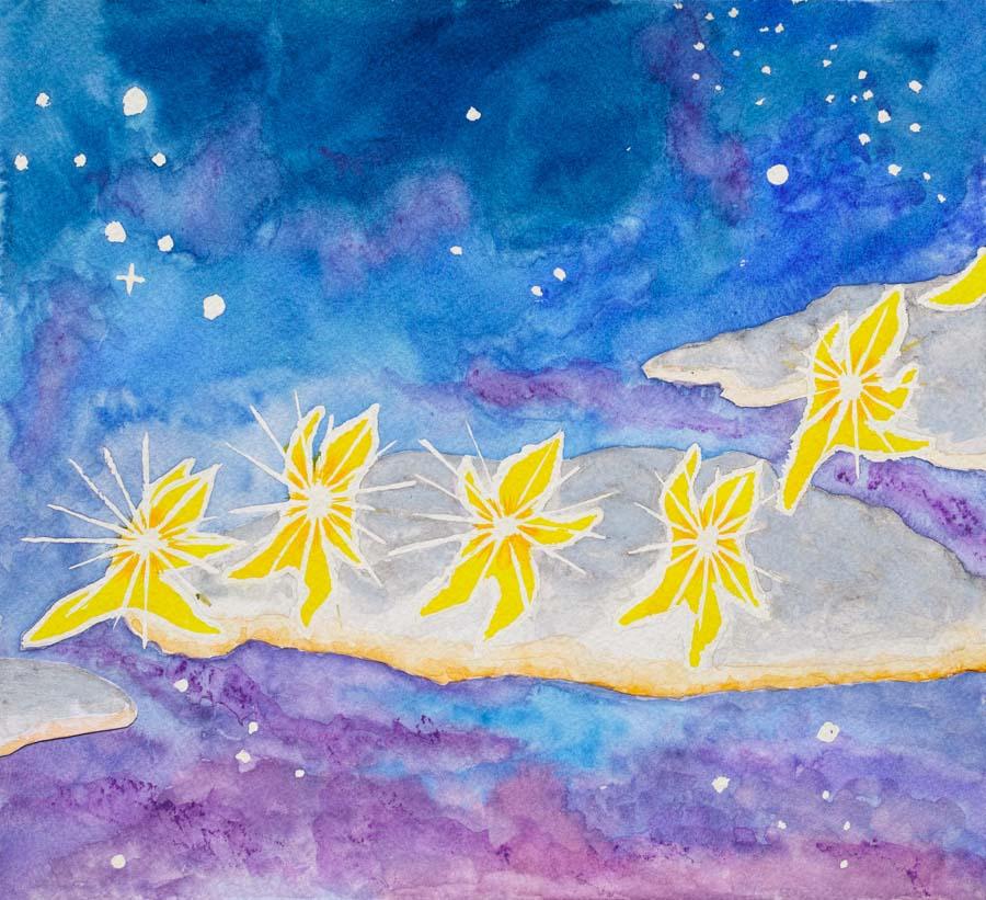 The Star Children - each page a doorway